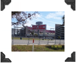 Raymond James Stadium home of the Tampa Bay Buccaneers